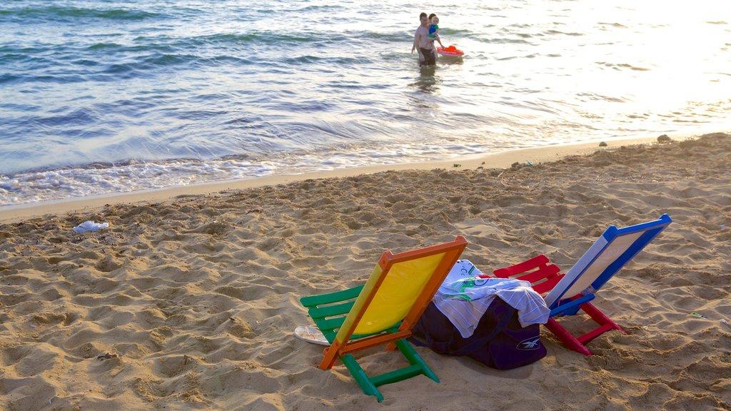 Golden Sands Beach featuring a sandy beach