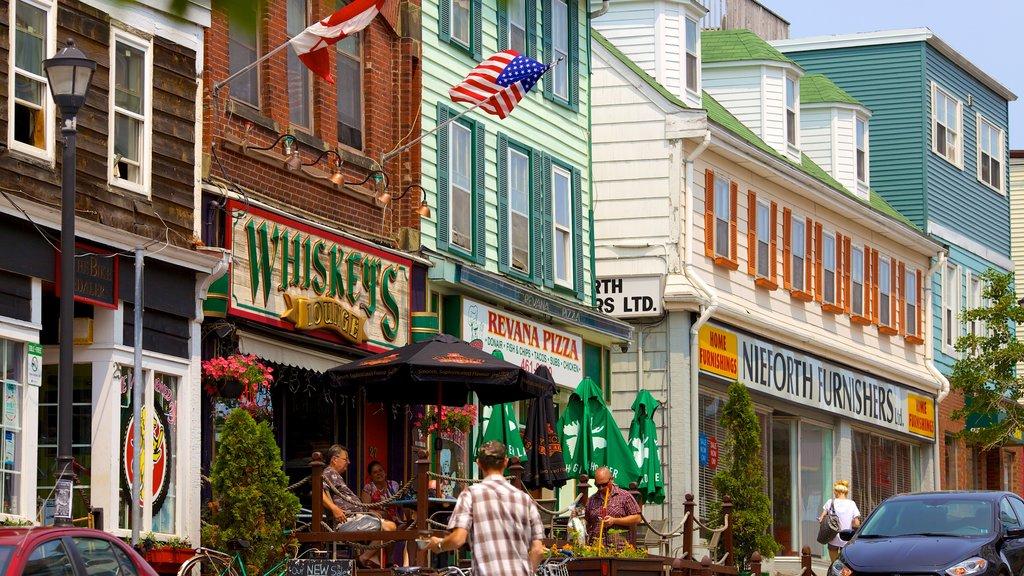 Dartmouth featuring street scenes