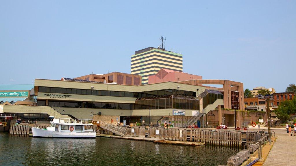 Dartmouth featuring a marina