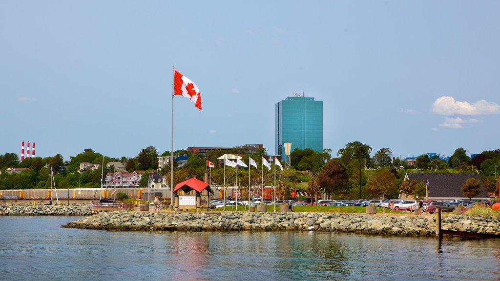 Dartmouth featuring rocky coastline