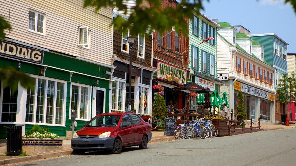 Dartmouth showing street scenes