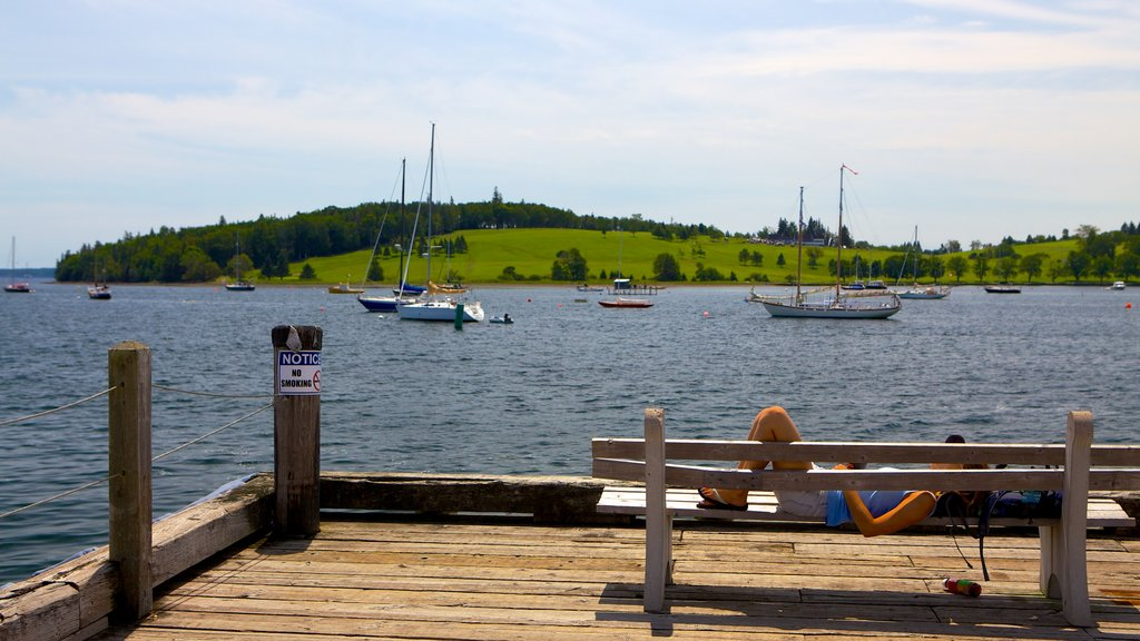 Lunenburg featuring boating, landscape views and a marina