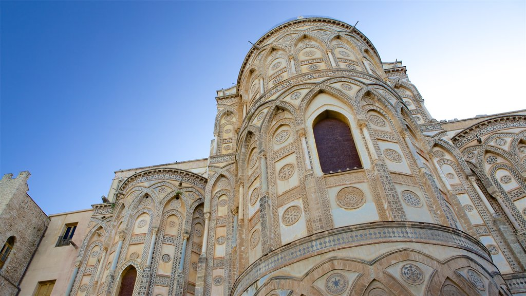 Cathedral of Monreale which includes religious elements, heritage architecture and a church or cathedral
