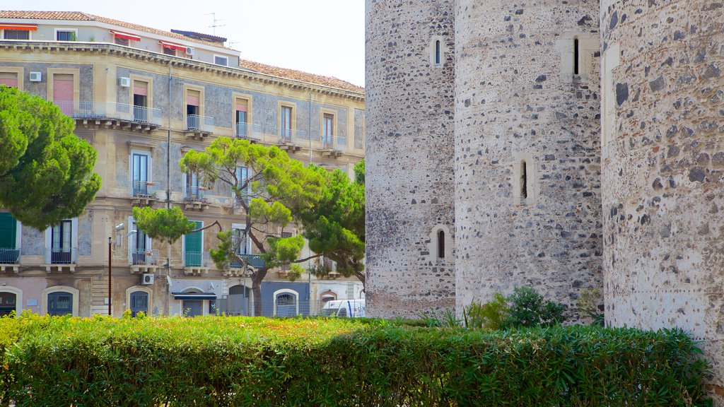 Ursino Castle featuring a castle and heritage architecture