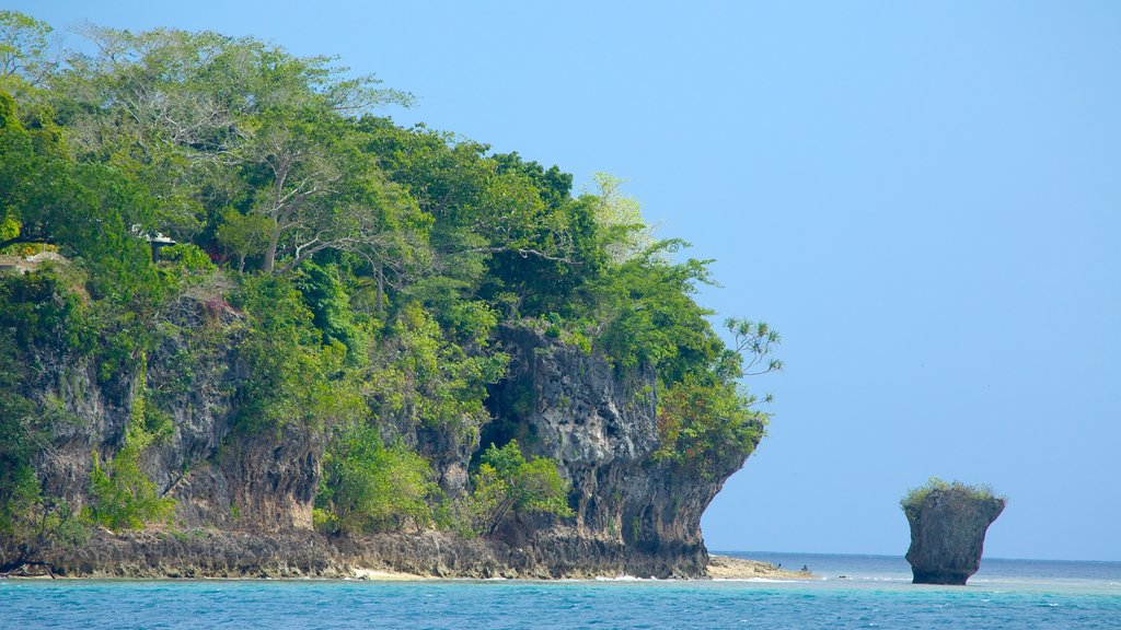 Efate showing general coastal views