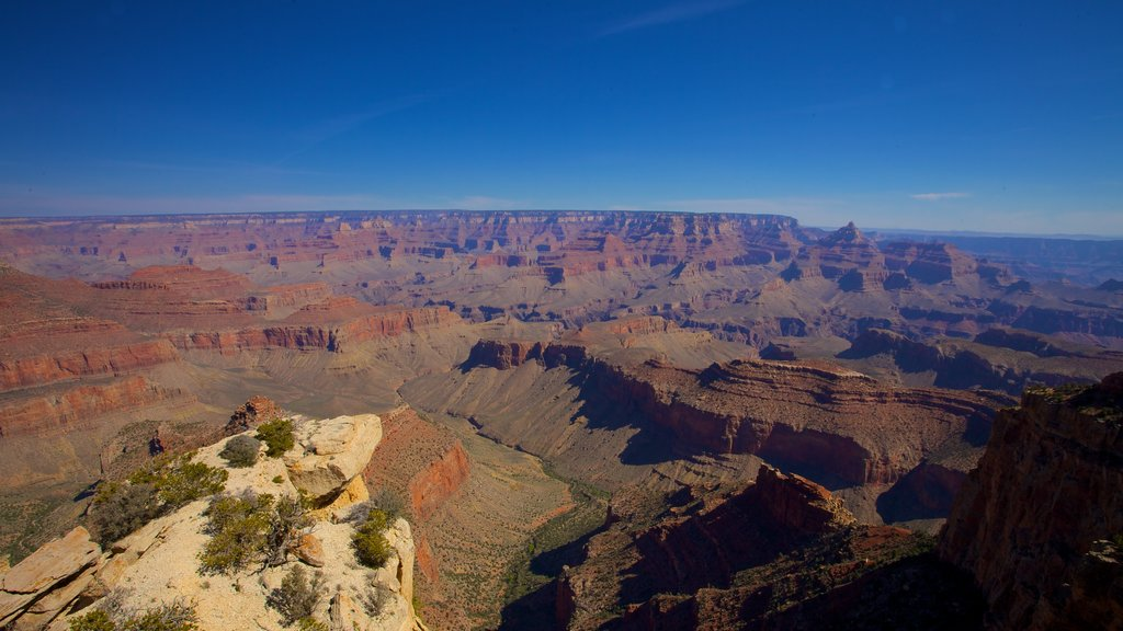 Grand Canyon which includes landscape views and a gorge or canyon