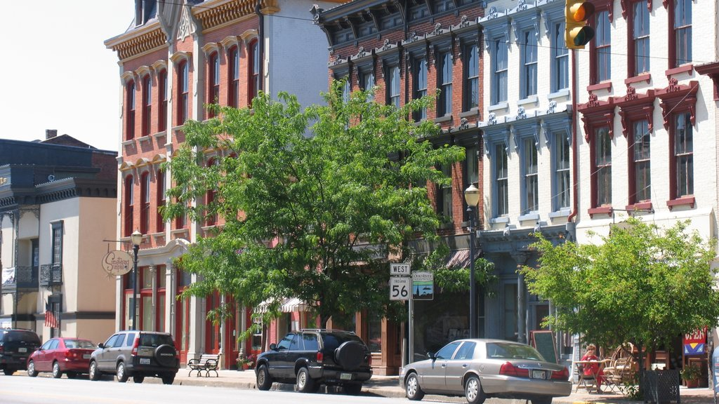 Madison mostrando escenas urbanas