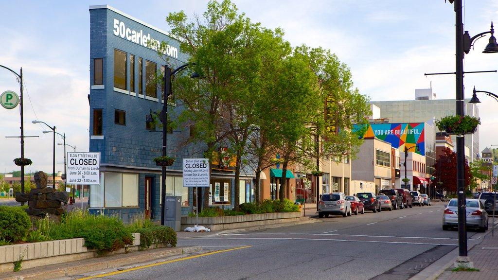 Sudbury which includes street scenes