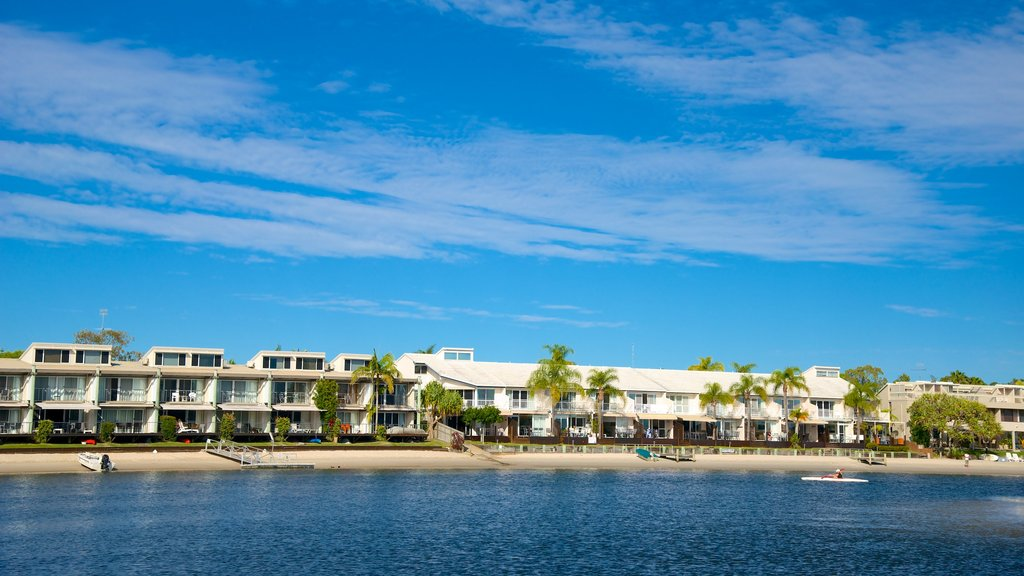 Noosa which includes a luxury hotel or resort and general coastal views