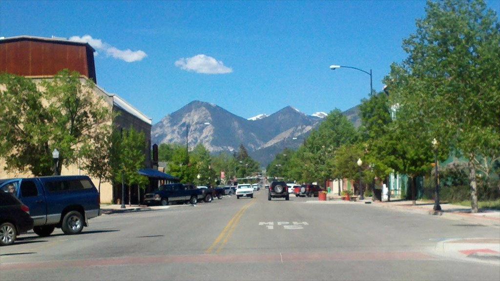 Buena Vista showing street scenes
