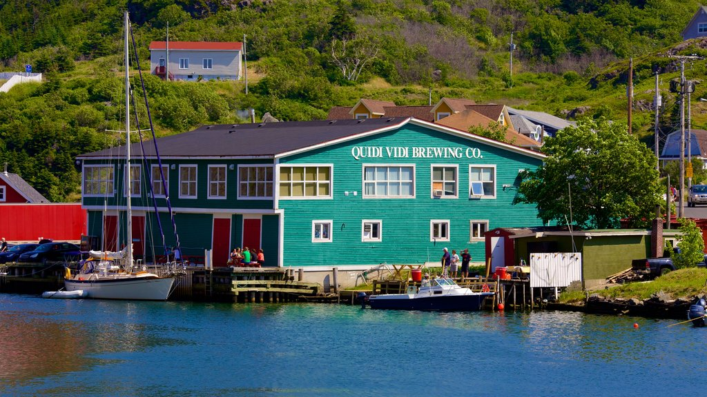 Quidi Vidi featuring a bay or harbor and general coastal views