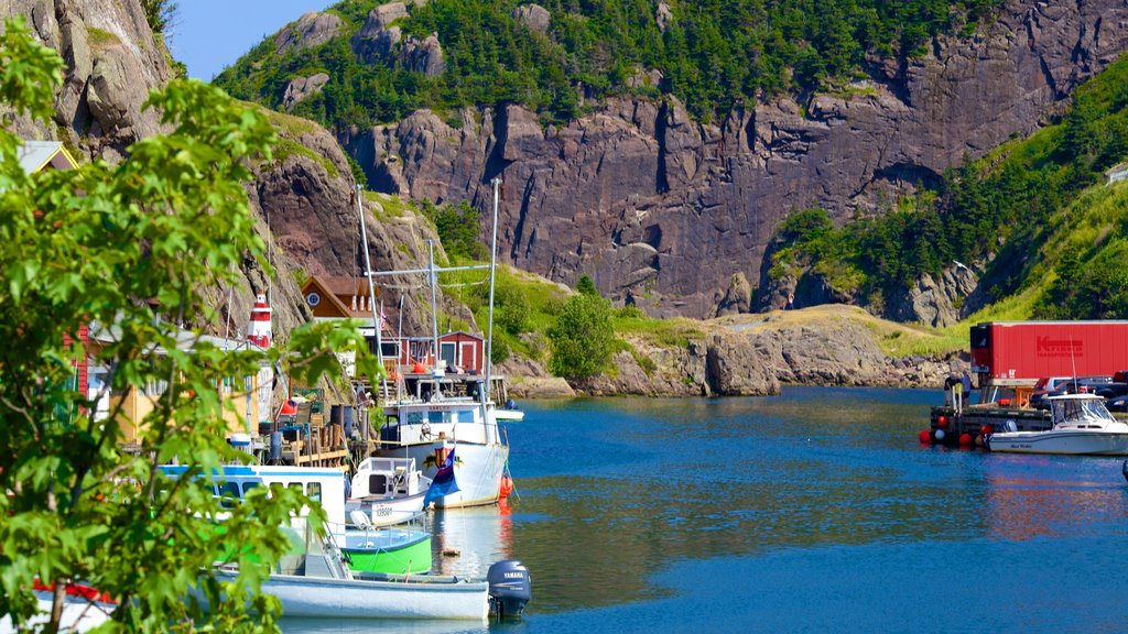 Quidi Vidi which includes general coastal views and boating