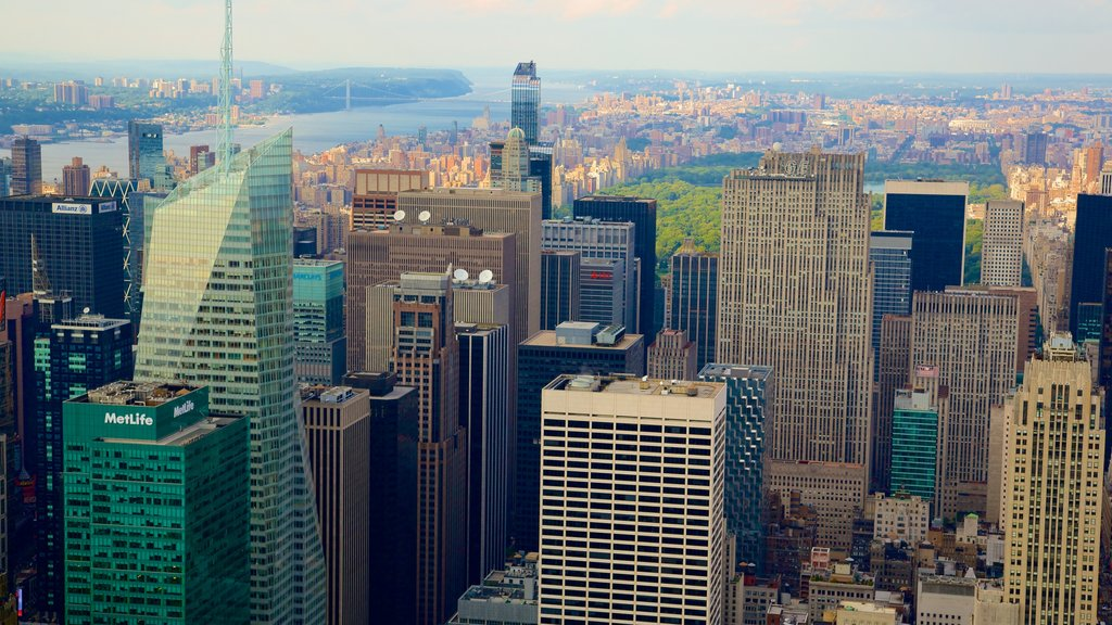Edificio Empire State mostrando una ciudad
