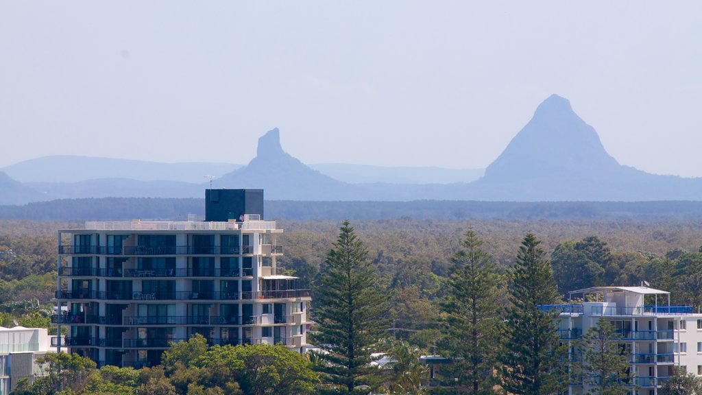 Glasshouse Mountains National Park which includes landscape views