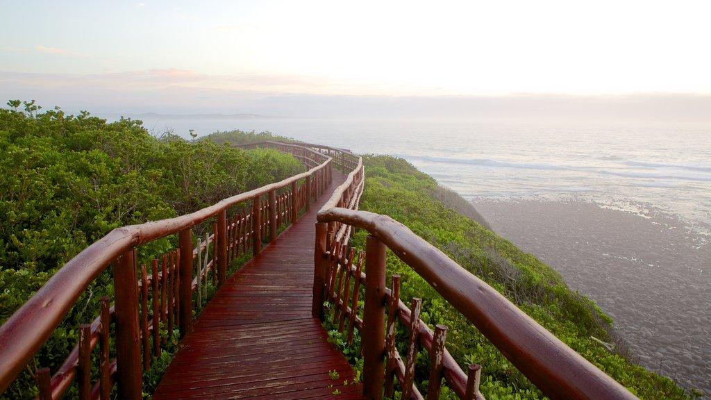 Nahoon Beach which includes general coastal views