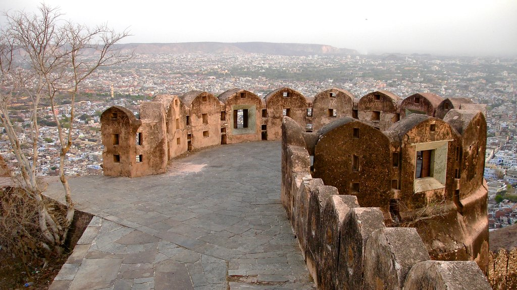 Jaipur which includes a city and views