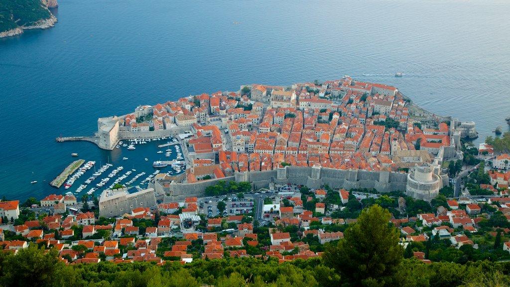 Dubrovnik - Southern Dalmatia featuring a coastal town