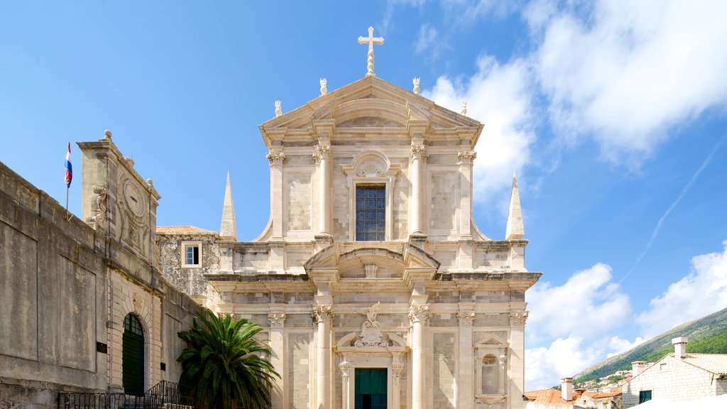 Church of St. Ignatius which includes a church or cathedral and heritage architecture