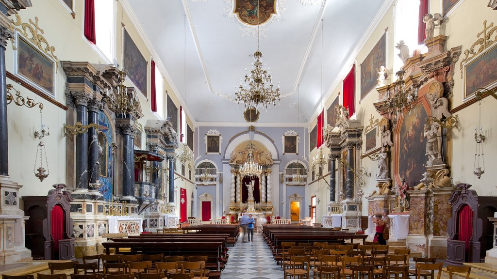 Franciscan Monastery showing heritage elements and interior views