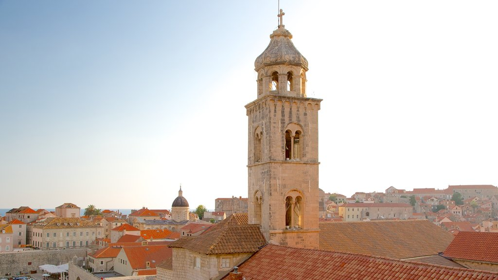 Dominican Monastery showing a church or cathedral and heritage architecture