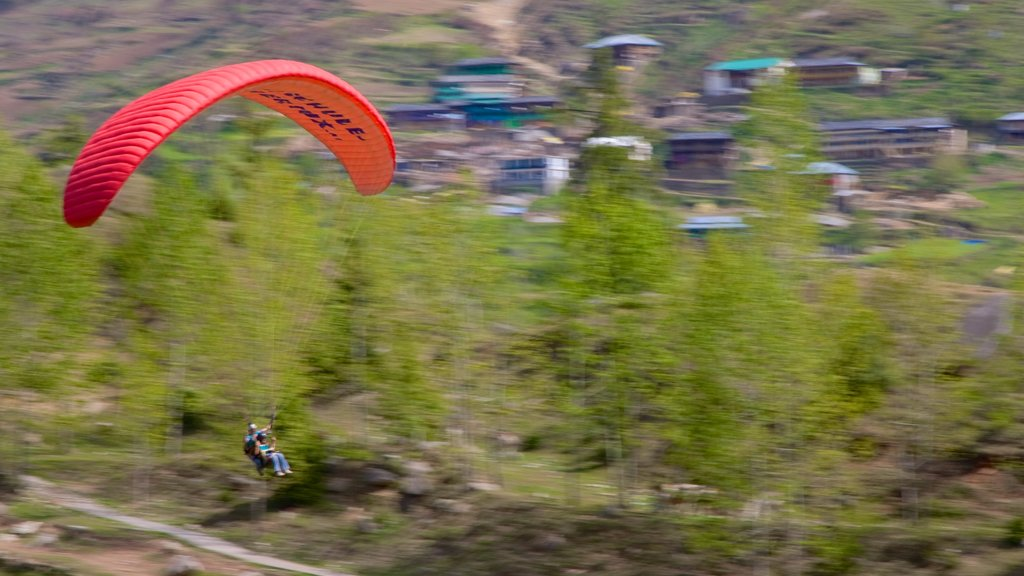 Manali which includes parasailing
