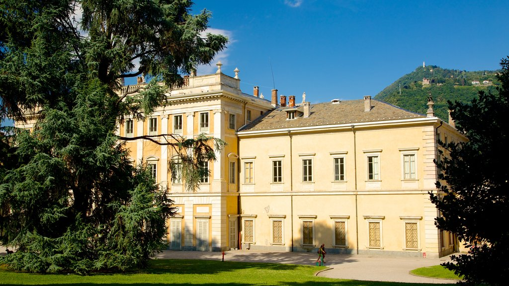 Villa Olmo featuring heritage architecture, heritage elements and a house
