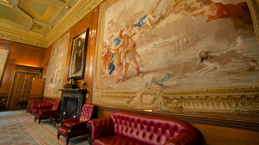 London which includes art, interior views and heritage elements