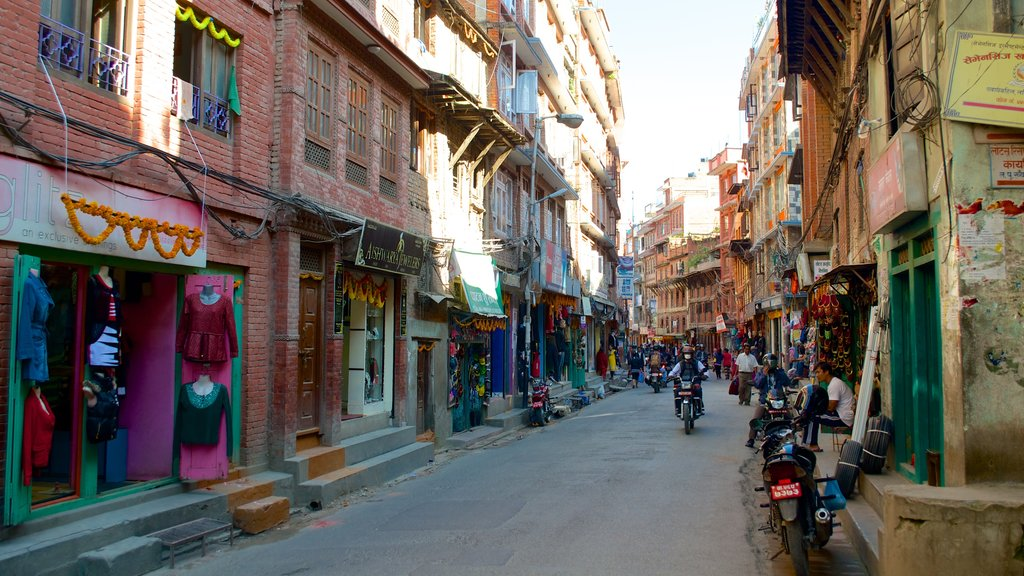 Kathmandu featuring a city