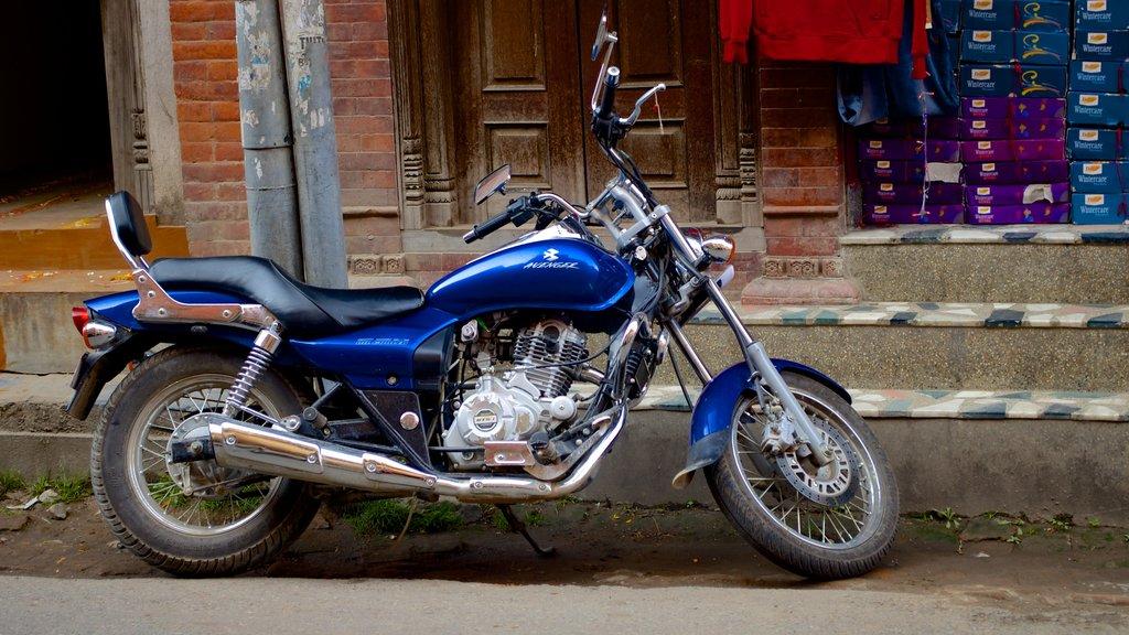 Kathmandu featuring motorbike riding