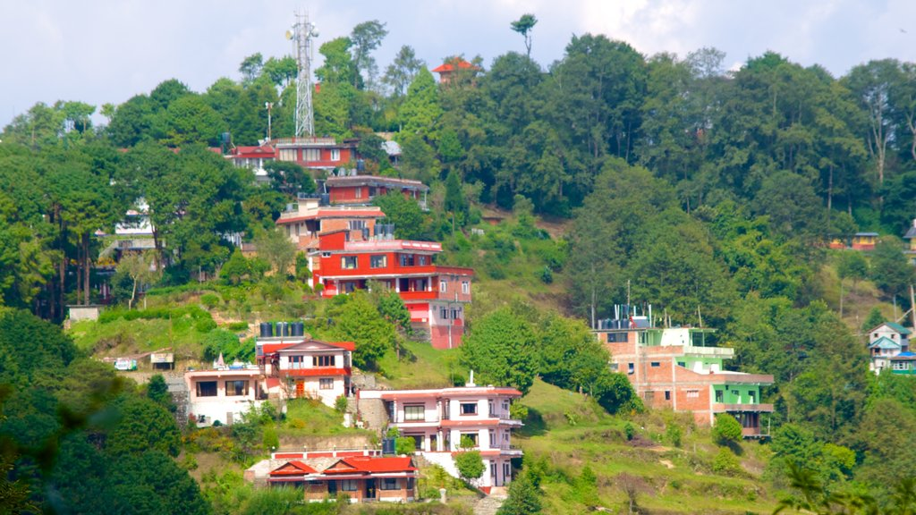 Nagarkot featuring tranquil scenes and a small town or village
