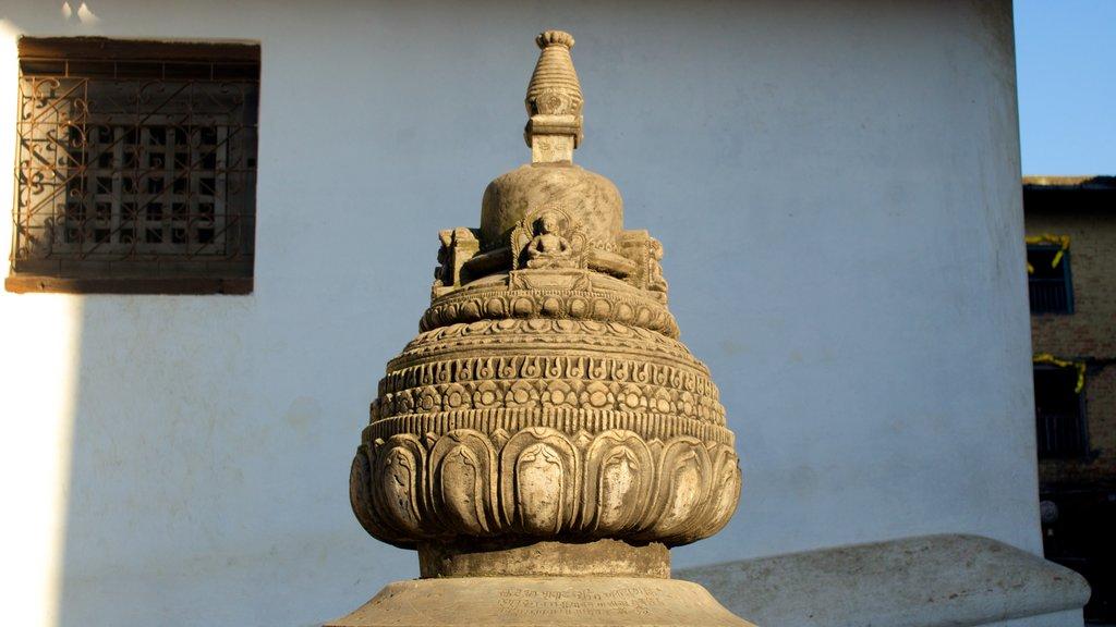 Swayambhunath showing religious elements
