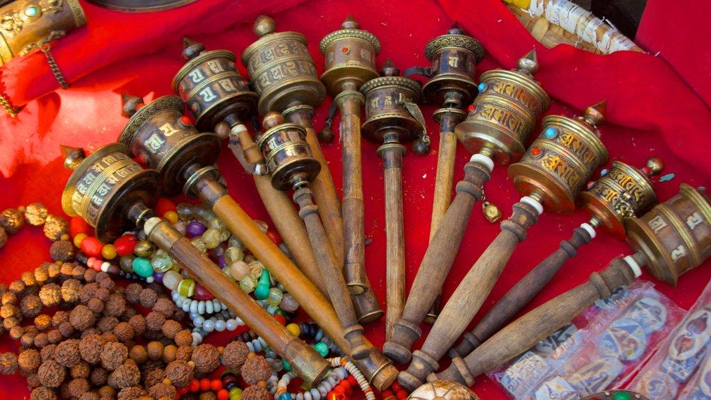 Swayambhunath featuring markets