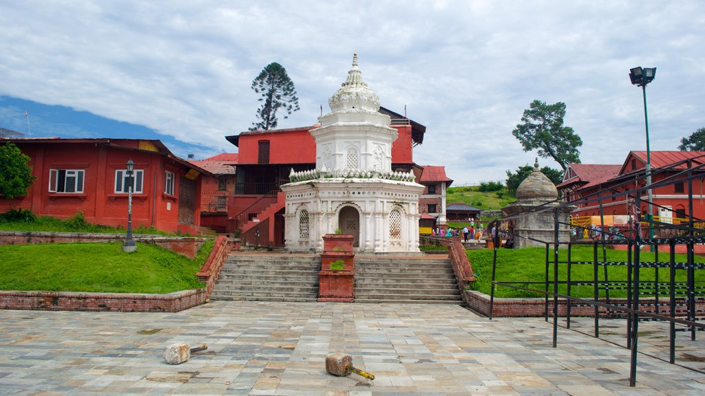 Pashupatinath Temple featuring a temple or place of worship and heritage elements