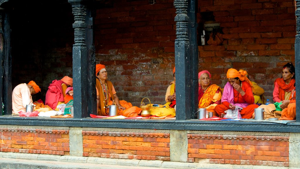 Pashupatinath Temple showing religious aspects