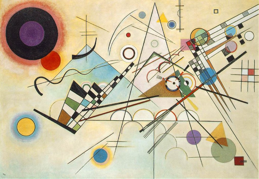 Composizione VIII - By Wassily Kandinski - http://www.ibiblio.org/wm/paint/auth/kandinsky/, Public Domain, https://commons.wikimedia.org/w/index.php?curid=37610963