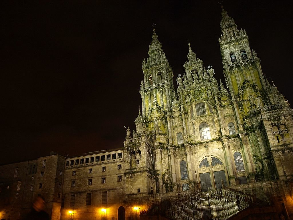 Cattedrale, Santiago de Compostela (by Itto Ogami - CC BY 3.0)