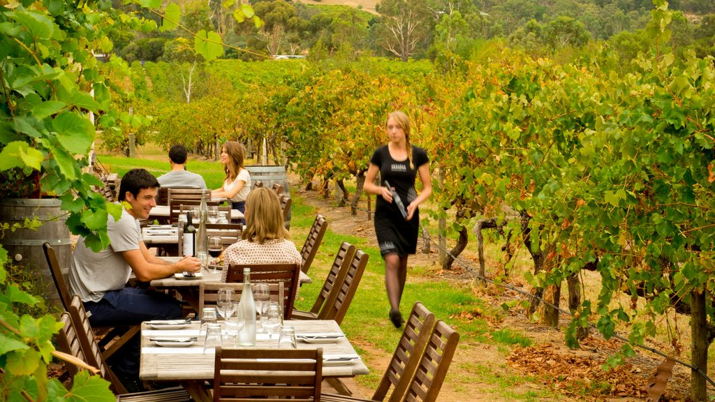 McLaren Vale as well as a small group of people