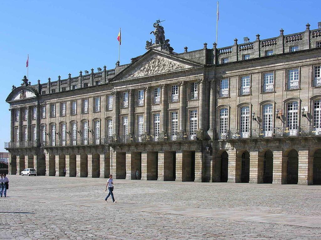 Piazza dell'Obradoiro, Santiago de Compostela (by Luis Miguel Bugallo Sánchez - CC-BY-SA-3.0)