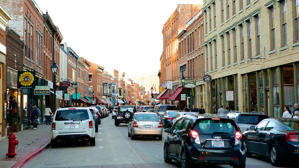 Galena featuring a city