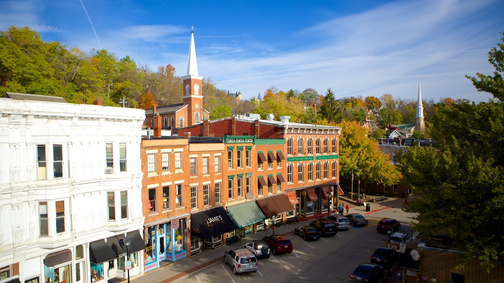 Galena which includes a city