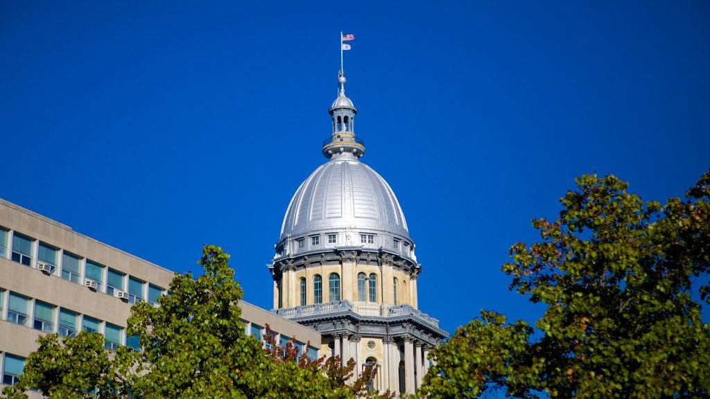 Illinois State Capitol which includes heritage elements, heritage architecture and an administrative buidling