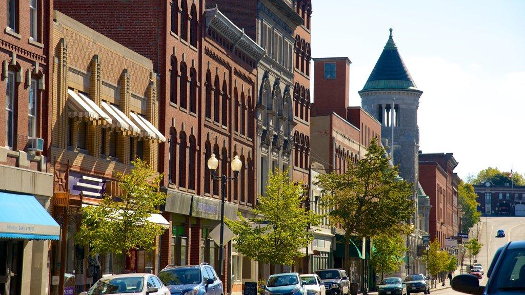 Augusta mostrando una ciudad