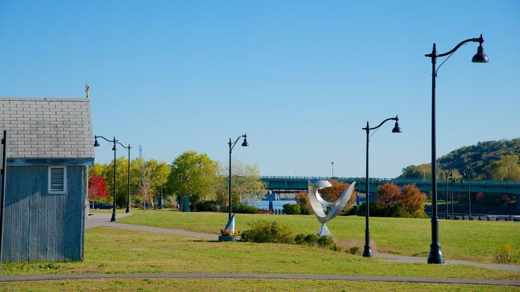 Bangor featuring a garden
