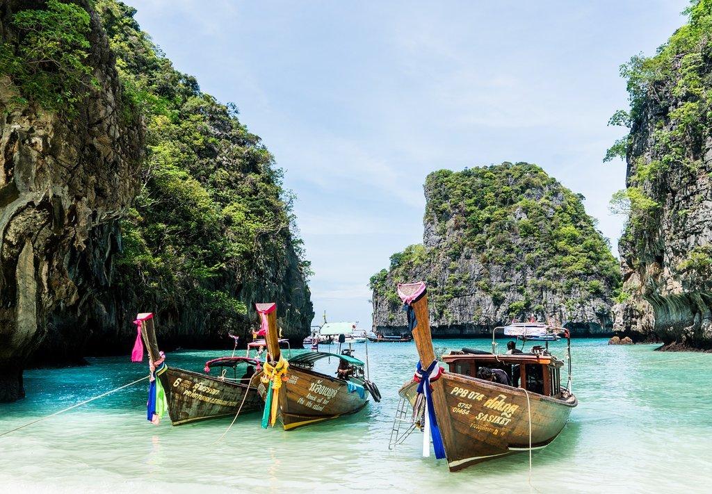 Koh Phi Phi, Thailandia (by Mariamichelle - CC0 Creative Commons)