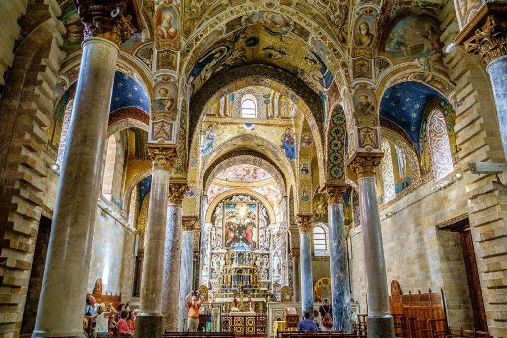 La Martorana Photo Credit: Giusy Vaccaro, autrice del blog www.ioamolasicilia.com