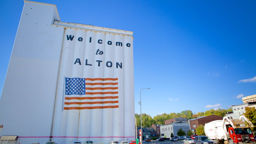 Alton showing signage
