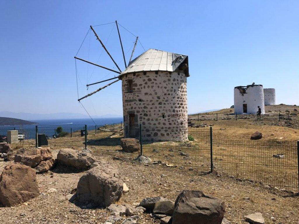 I mulini a vento di Bodrum - Photo Credit: Francesca Spanò
