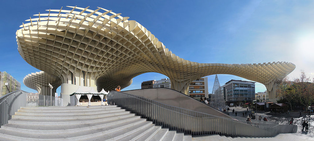 Il Metropol Parasol - By Rubendene - Own work, CC BY-SA 3.0, https://commons.wikimedia.org/w/index.php?curid=23607062