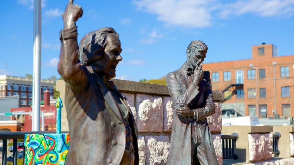 Alton showing a statue or sculpture