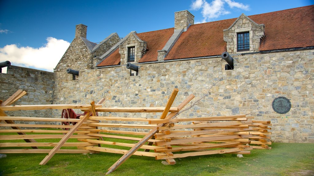 Fort Ticonderoga showing heritage elements